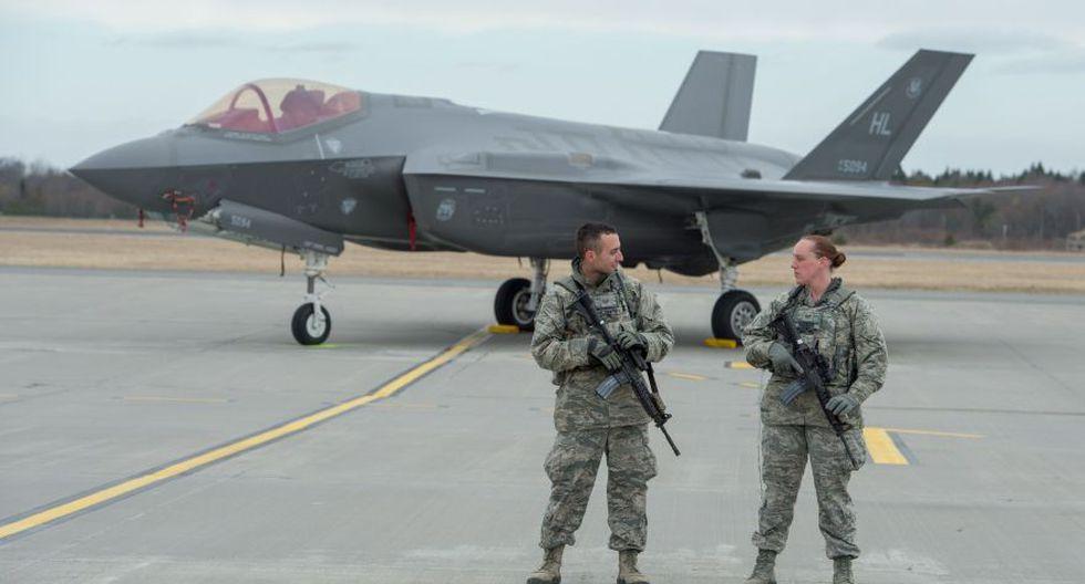 Los ultramodernos F-35 de EE.UU. que entrenan cerca de Rusia - 6