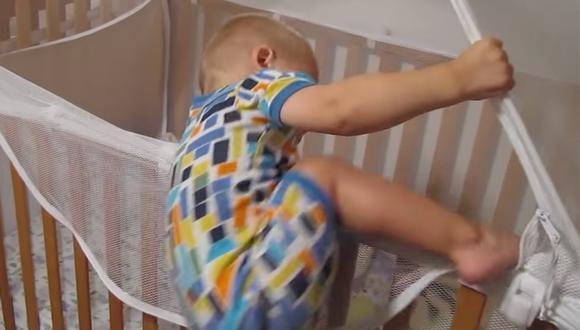 Zack y Chris son los dos pequeños gemelos que disfrutan del llamado a dormir de su madre. (Foto: Captura de YouTube).