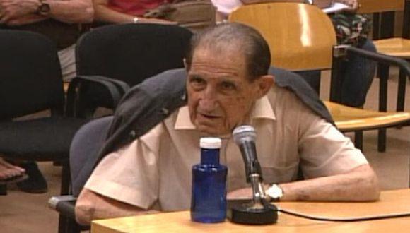 Eduardo Vela, de 85 años, fue hallado culpable de secuestro, fraude y falsificación de documentos.