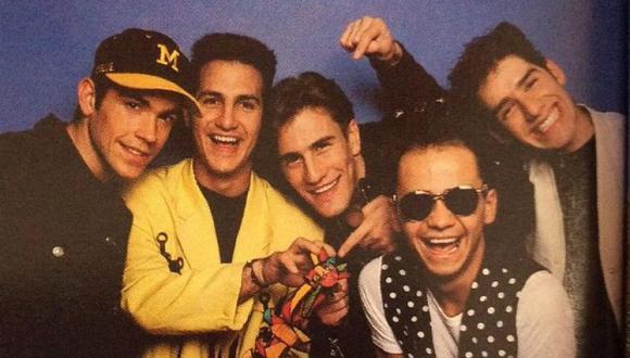 Nacida en México, Magneto fue una de las bandas masculinas de pop más famosas en los 80 y 90 (Foto: Magneto)