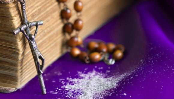 El 'Miércoles de ceniza' es una ceremonia sagrada para la Iglesia Católica. (Foto: Shutterstock)