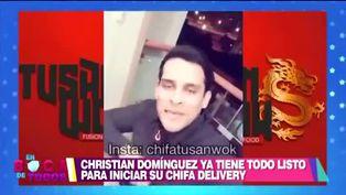 Christian Domínguez se reinventa y decide incursionar en la gastronomía
