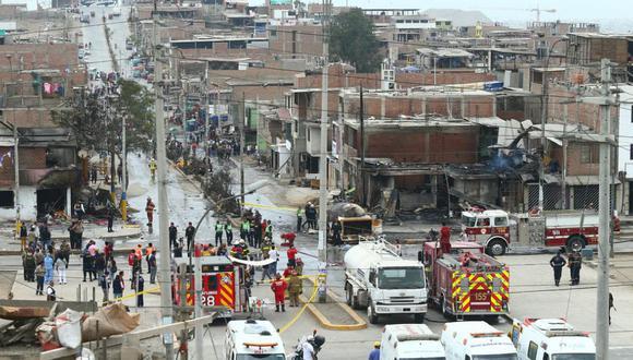 La tragedia en Villa El Salvador hasta la fecha ha dejado 23 personas fallecidas. (Foto: GEC)