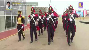 Callao: Guardia del Real Felipe se prepara para el desfile del Bicentenario