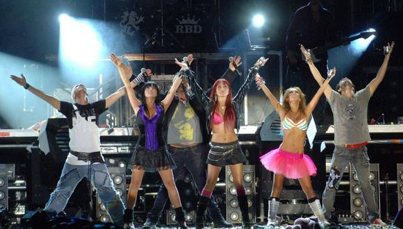 """Ser o Parecer"" es el show virtual para ser parte del reencuentro virtual de RBD. (Foto: Facebook / RBDMusicalOficial)."