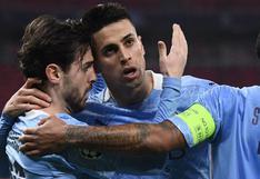 Manchester City venció 2-0 al Mönchengladbach por octavos de Champions League