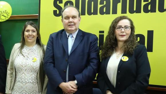 Rafael López Aliaga, secretario general de Solidaridad Nacional, deslinda del fujimorismo (Foto: GEC)