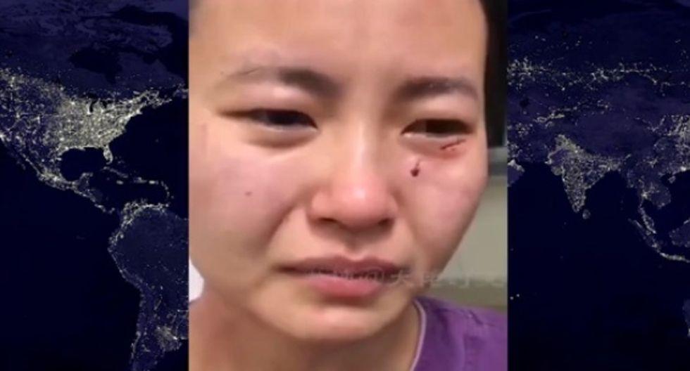 El ciudadano tenía 47 años y llegó el pasado 20 de marzo a China.| Foto: Noticias TV México/YouTube