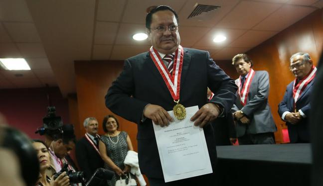 En la resolución se consideró también la carta de declinación de Arce Córdova presentada el último miércoles. Foto: (Foto: CNM)