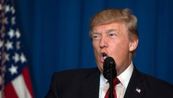"""Trump: """"Ordené ataque desde donde lanzaron armas químicas"""""""