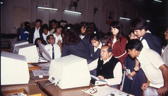 Durante 27 años, el Programa Corresponsales Escolares de El Comercio formó a niños y adolescentes en el ejercicio del periodismo y les inculcó a comprometerse con los problemas de sus colegios y su comunidad (Archivo Histórico)