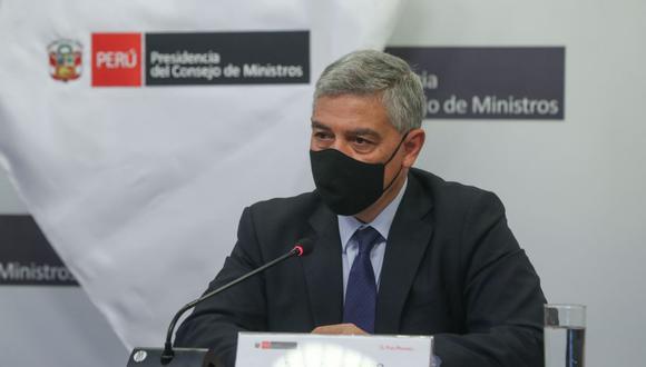 José Elice se presentó de manera virtual ante la Comisión Permanente. (Foto: Andina)