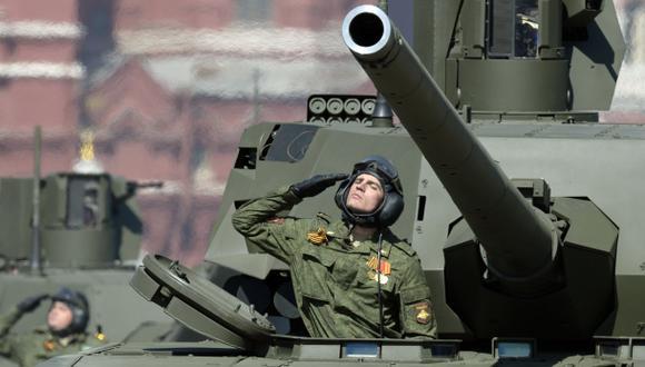 Las nuevas armas que exhibió Rusia en su gran desfile [FOTOS]