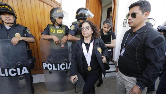 Fiscal del caso Los Cuellos Blancos del Puerto, Rocío Sánchez (Foto: GEC)