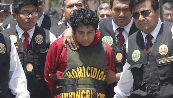 Óscar Medina Jara participó en la reconstrucción de los asesinatos ocurridos en Huaura. Las víctimas estaban desaparecidas desde el 11 de enero. (USI)