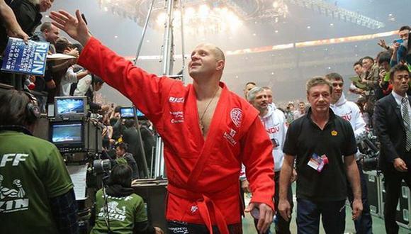 MMA: Fedor Emelianenko enfrentará en junio a ex luchador de UFC