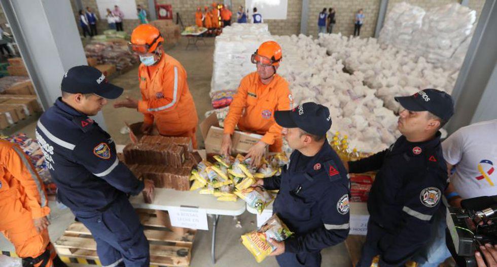 """La operación """"en este primer momento se está dando entre el Gobierno de los Estados Unidos, de Colombia y de la presidencia interina de Venezuela"""", agregó el funcionario en una rueda de prensa.(Foto: EFE)"""