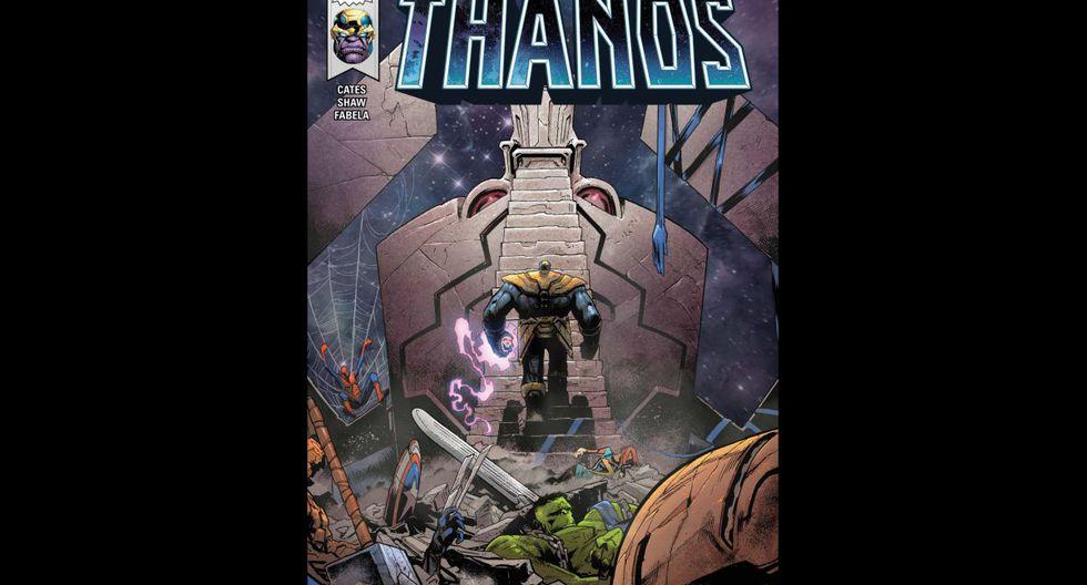 """""""Thanos Wins"""" (2016) - Una historia sobre cómo uno de los más poderosos enemigos en Marvel finalmente se sale con la suya y por qué su triunfo no sería tan dulce como lo imaginaba. (Fuente: Marvel)"""