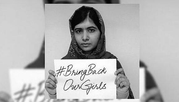 Malala pide acción mundial ante secuestro de niñas de Nigeria