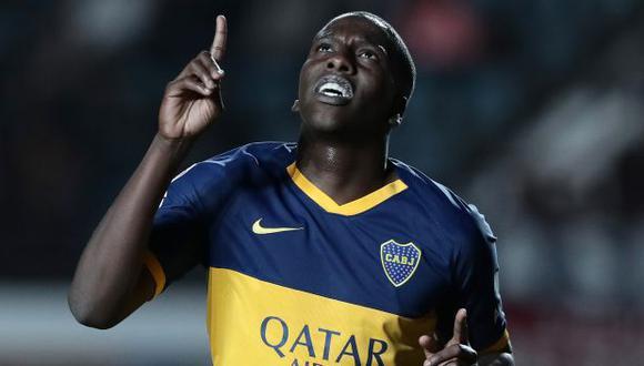 Jan Hurtado tiene 2 goles en 18 partidos con camiseta de Boca Juniors. (Foto: AFP)