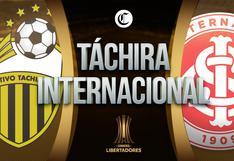 Táchira vs. Internacional EN VIVO: sigue EN DIRECTO el partido por la Copa Libertadores