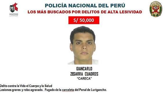 Capturan a 'Careca' tras ser baleado en el rostro en Miraflores