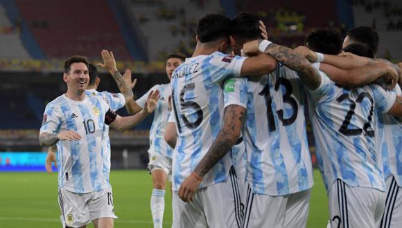 Argentina debutará en la Copa América 2021 este lunes 14 de junio. | Foto: AFP
