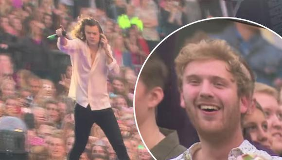 Harry Styles reconoció a chico que le quitó a su novia (VIDEO)