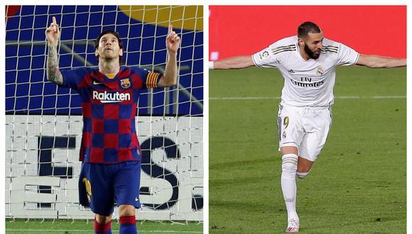 Barcelona y Real Madrid pelean por el título de LaLiga Santander. (Foto: Agencias)