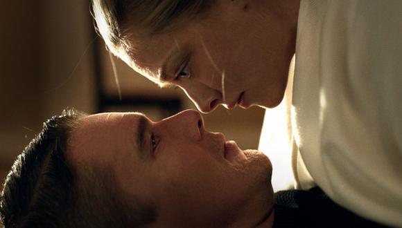 """""""En 'First Reformed', Ethan Hawke interpreta a un ex capellán militar que, tras perder a su hijo, se vuelve amigo de una mujer (Amanda Seyfried) que también sufre, pero por la pérdida de su marido. (Foto:  Arclight Films)"""