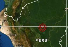 Loreto: sismo de magnitud 4,1 se reportó en Yurimaguas, señaló el IGP