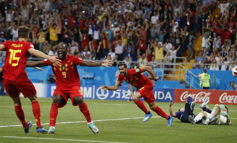 Nacer Chadli le dio el triunfo a los 'diablos rojos'. (Foto: AP)