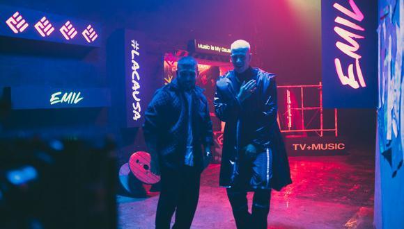 """Emilio Jaime y Ezio Oliva unen sus voces para el tema """"Provoca"""", el que marca el lanzamiento musical de EMIL. (Foto: @emil.lacausa)"""