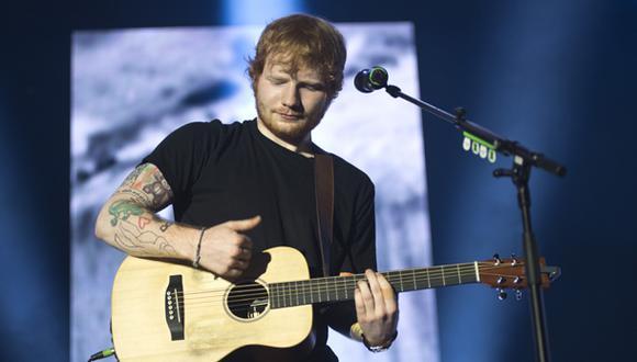 Ed Sheeran dará concierto en Lima en el 2015