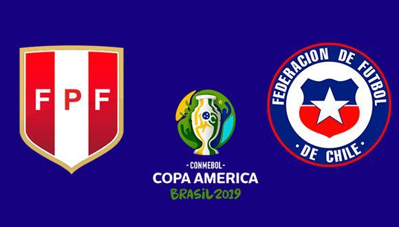Perú vs. Chile se enfrentan por las semifinales de la Copa América 2019.