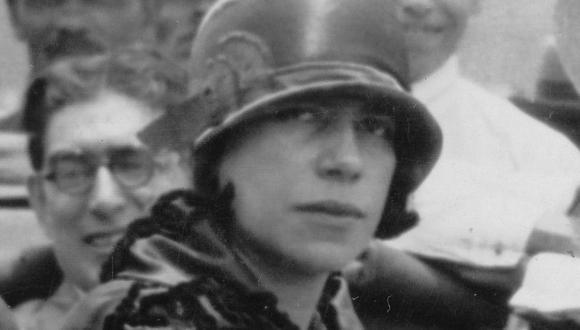 Ángela Ramos  en la fiesta de la Planta en Vitarte, 1929. (Foto: Colaboración Diana Miloslavich Tupac)