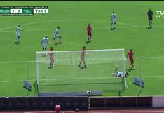Pumas vs. Toluca: El insólito blooper de Luis García que facilitó el 1-0 de los auriazules | VIDEO