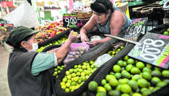 """""""Ni el coronavirus ni la cuarentena van a causar una escasez generalizada"""". (Foto: ANTHONY RAMIREZ NIÑO DE GUZMÁN)"""