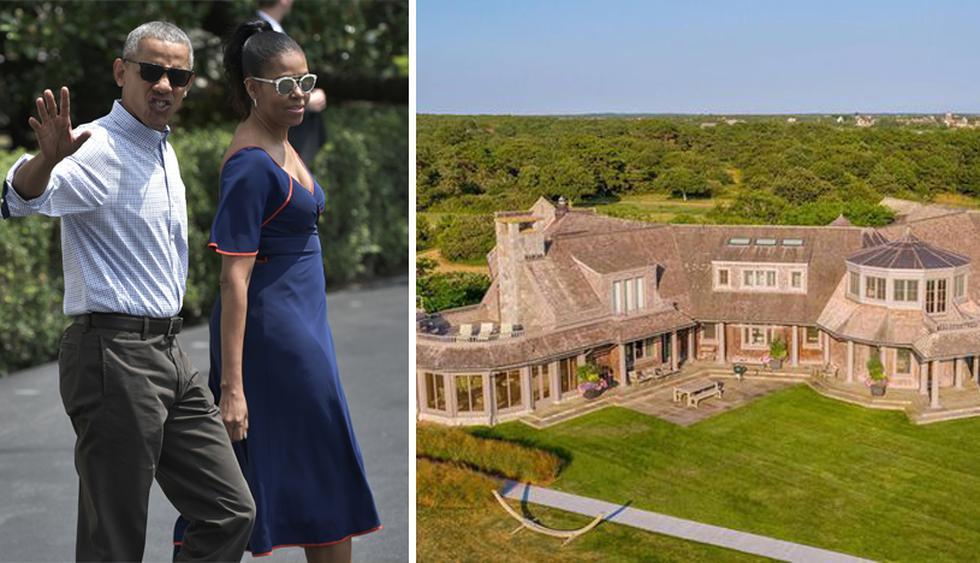 Los Obama suelen pasar sus vacaciones de verano en Martha's Vineyard, Massachusetts. Ahora piensan adquirir una mansión. (Foto: Realtor)