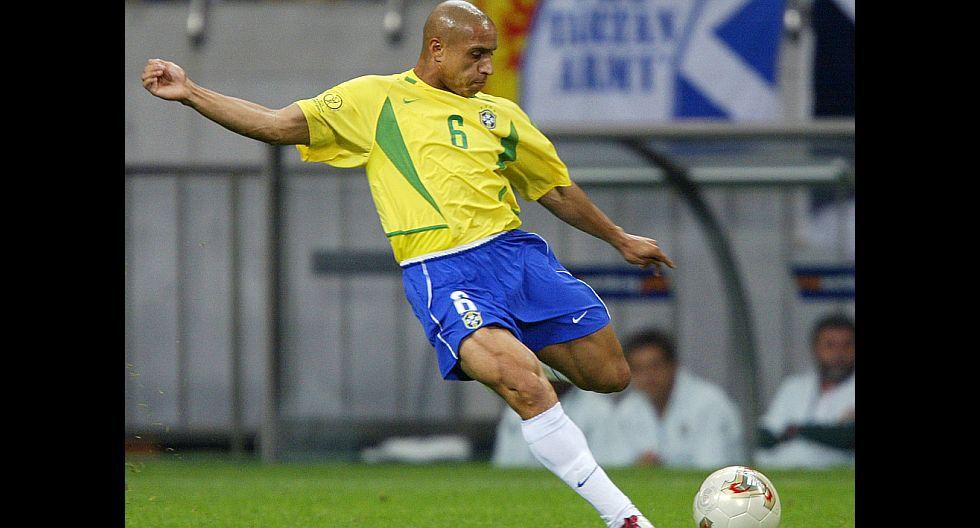 Roberto Carlos (Brasil). (Foto: AFP)