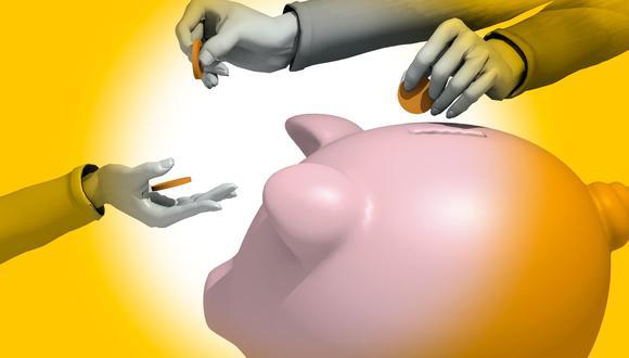 Especialistas recomiendan ahorrar al menos el equivalente a 3 meses de gastos ante actual emergencia. (Ilustración: GEC)
