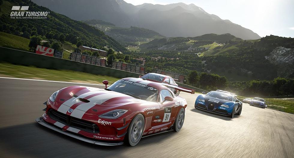 1. Gran Turismo Sport. Disponible para PS4 y es compatible con VR.
