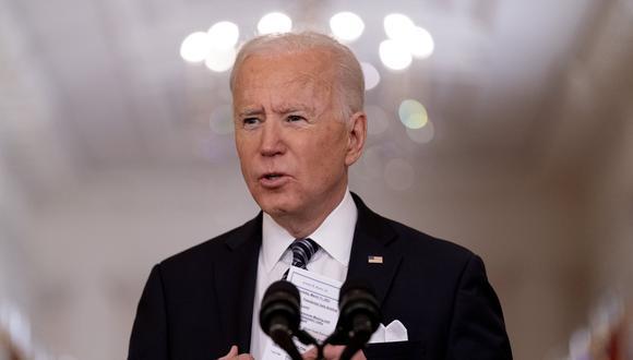 El presidente de Estados Unidos, Joe Biden. AP