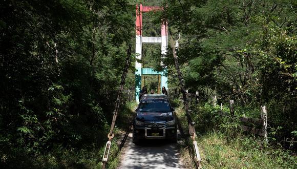 El caserío de Bajo Chancarizo está a 30 minutos en auto desde la Plaza de Armas. (Foto: Renzo Salazar)