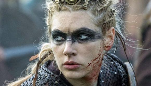 """Lagertha demostró ser una increíble guerra a lo largo de las seis temporadas de """"Vikings"""" (Foto: History Channel)"""