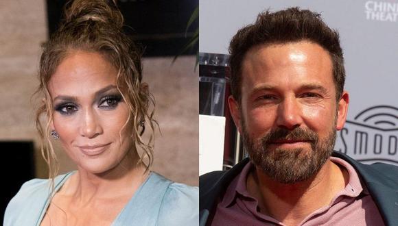 Jennifer Lopez y Ben Affleck se dejaron ver muy apasionados en un yate en el sur de Francia. (Foto: Getty Images / Composición)