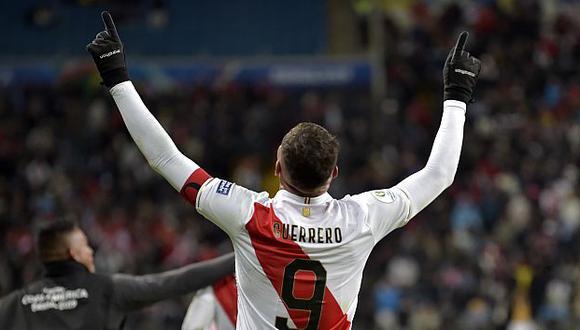 Paolo Guerrero es el máximo goleador de la selección peruana con 39 anotaciones. (Foto: AFP)
