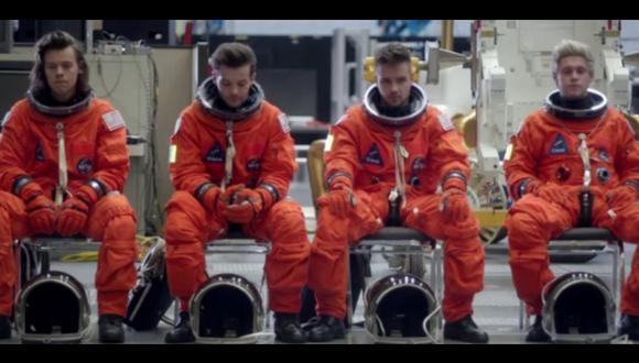 One Direction: se convierten en astronautas en su último clip