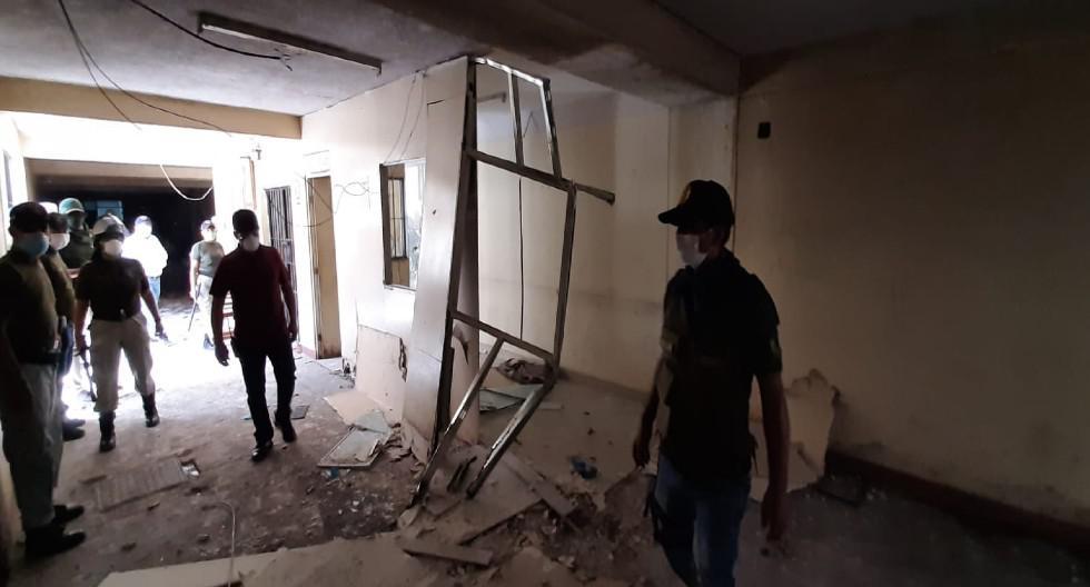 Chiclayo: Reclusos ingresaron a oficinas administrativas y provocaron destrozos.
