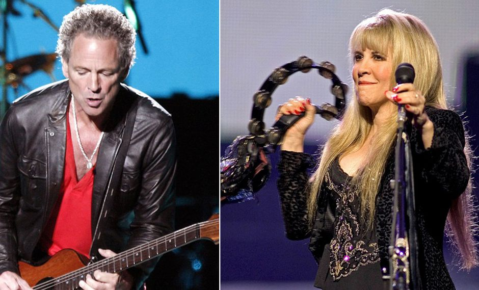 Lindsey Buckingham y Stevie Nicks. (Fotos: Agencias)